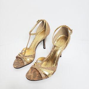 BCBG   Sparkle Metallic Heels